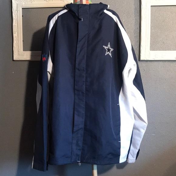 the latest 25093 bf621 Dallas cowboys Reebok jacket